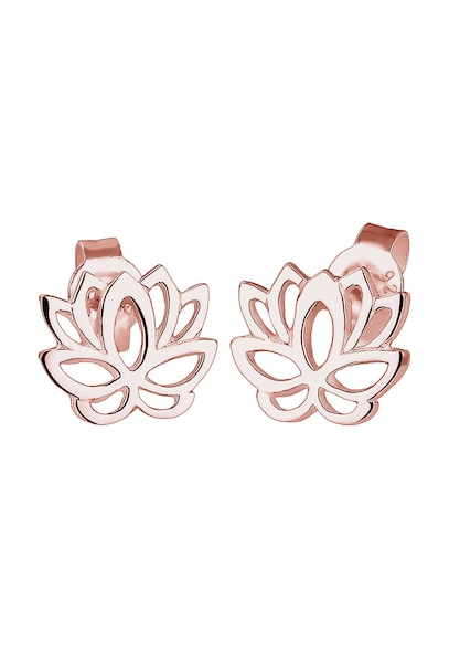 Ohrringe für Frauen - ELLI Ohrringe 'Lotusblume' rosegold  - Onlineshop ABOUT YOU