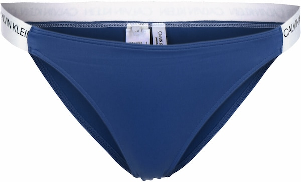 Bademode - Bikini Unterteil ' Cheeky W ' › Calvin Klein Underwear › blau  - Onlineshop ABOUT YOU