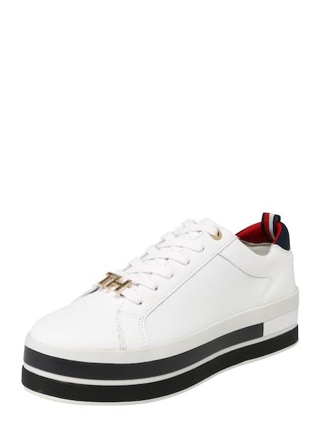 Sneakers für Frauen - Sneaker › Tommy Hilfiger › weiß  - Onlineshop ABOUT YOU