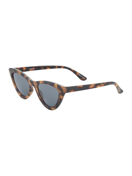 Sonnenbrillen für Frauen - PIECES Sonnenbrille 'PCSALLY' braun  - Onlineshop ABOUT YOU