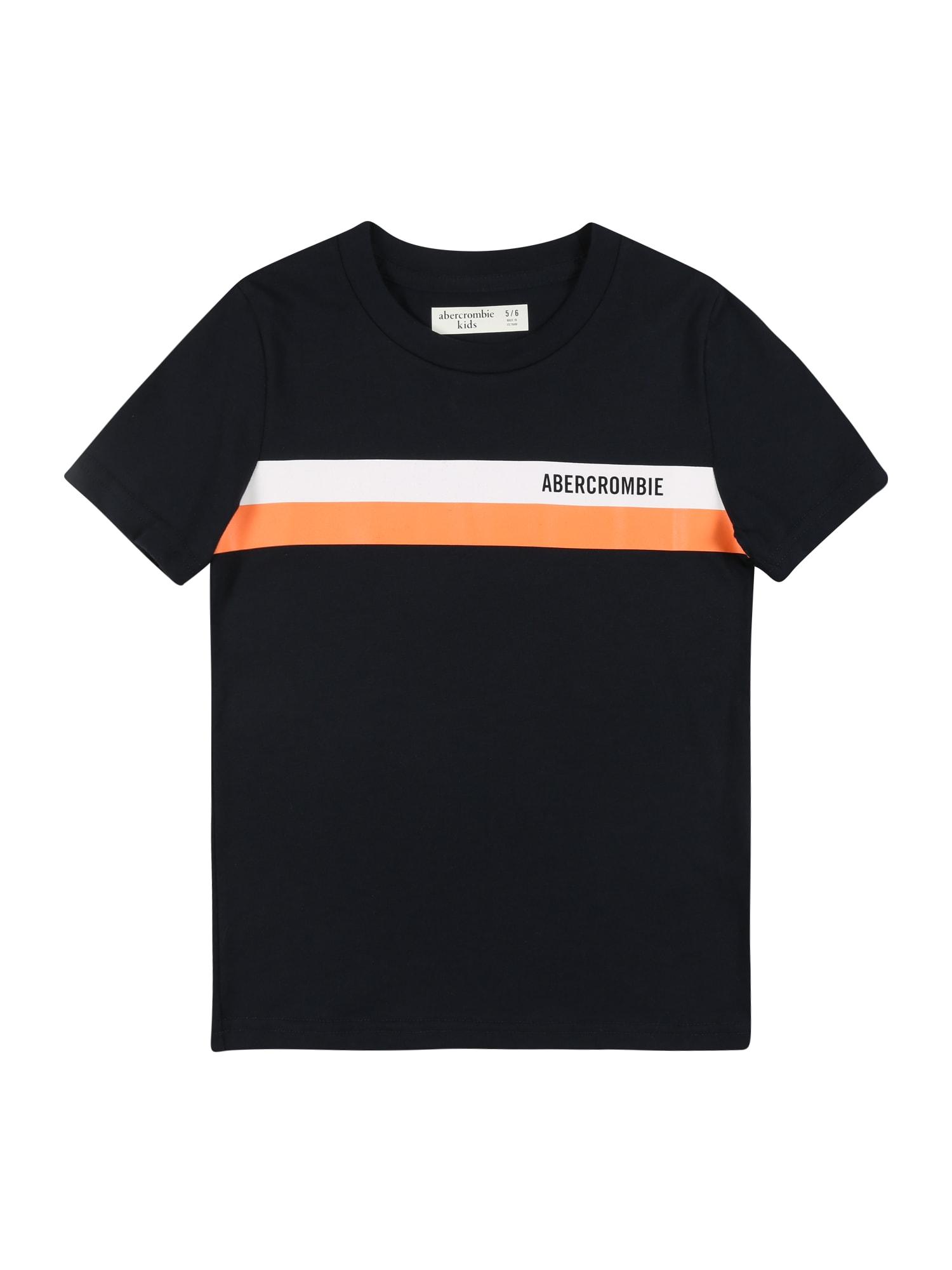 Abercrombie & Fitch Tričko  námořnická modř