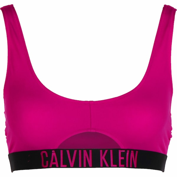 Bademode - Bikini Oberteil ' Cut out ' › Calvin Klein Underwear › schwarz apfel  - Onlineshop ABOUT YOU