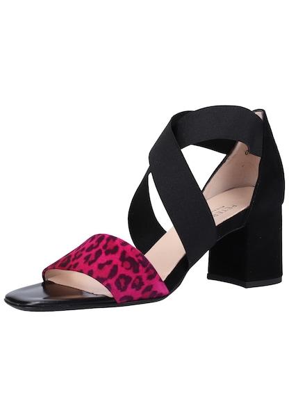 Sandalen für Frauen - PETER KAISER Sandalen neonpink schwarz  - Onlineshop ABOUT YOU