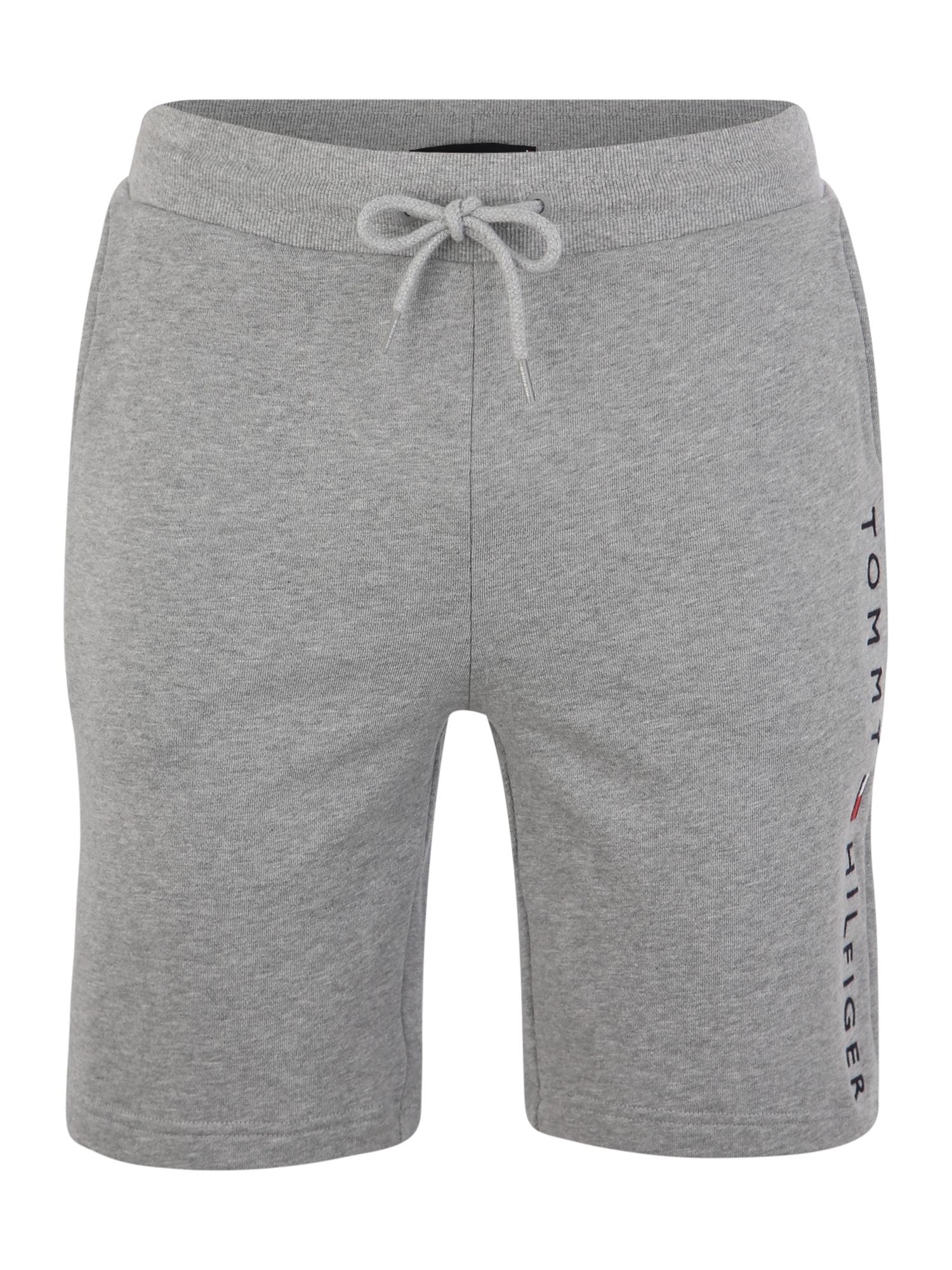 Tommy Hilfiger Underwear Pyžamové kalhoty  šedý melír / černá