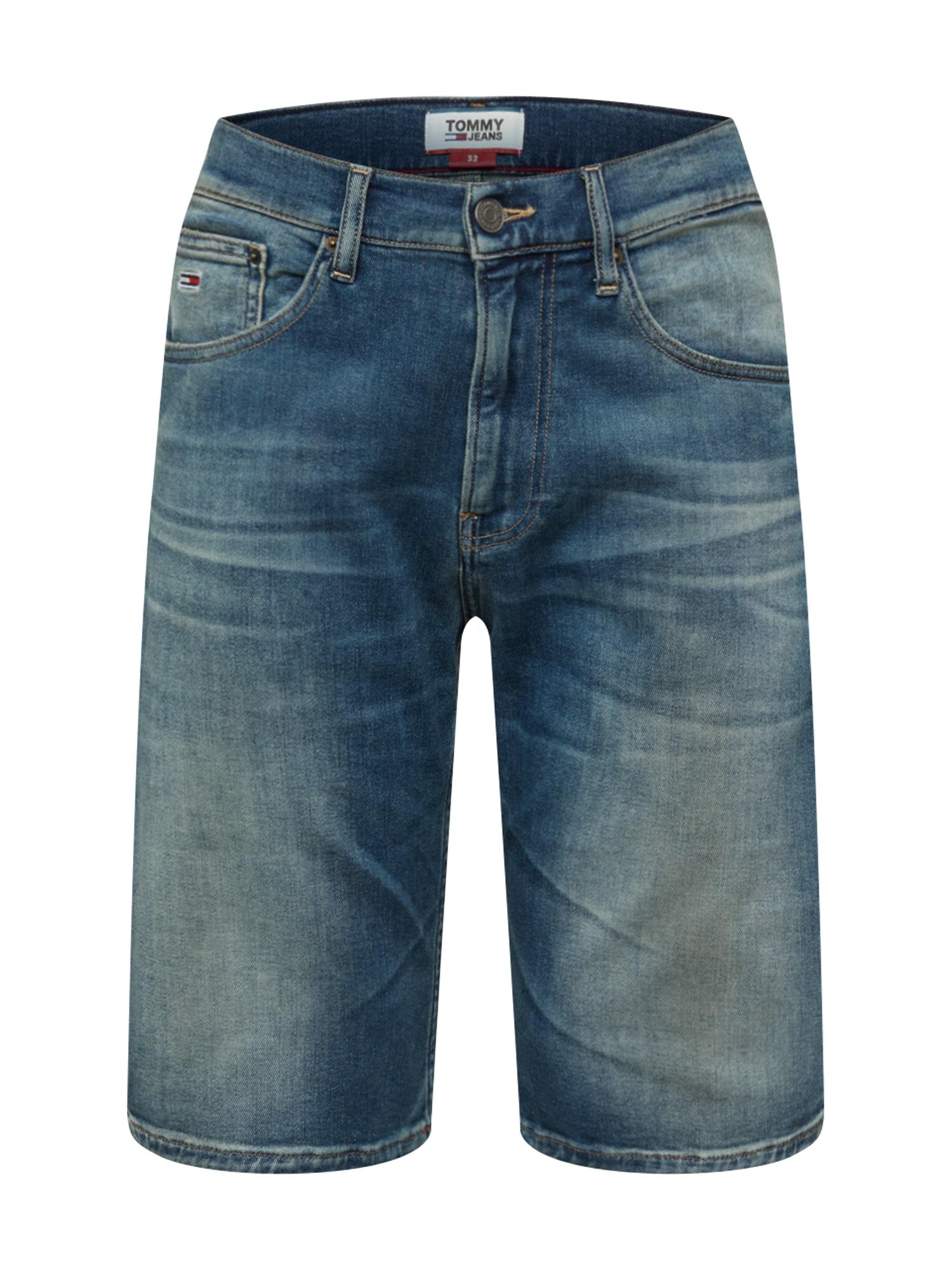 Tommy Jeans Džinsai 'Shorts' tamsiai (džinso) mėlyna