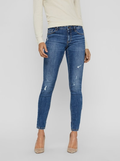 Vero Moda Lydia Distressed Skinnyjeans mit niedriger Taille