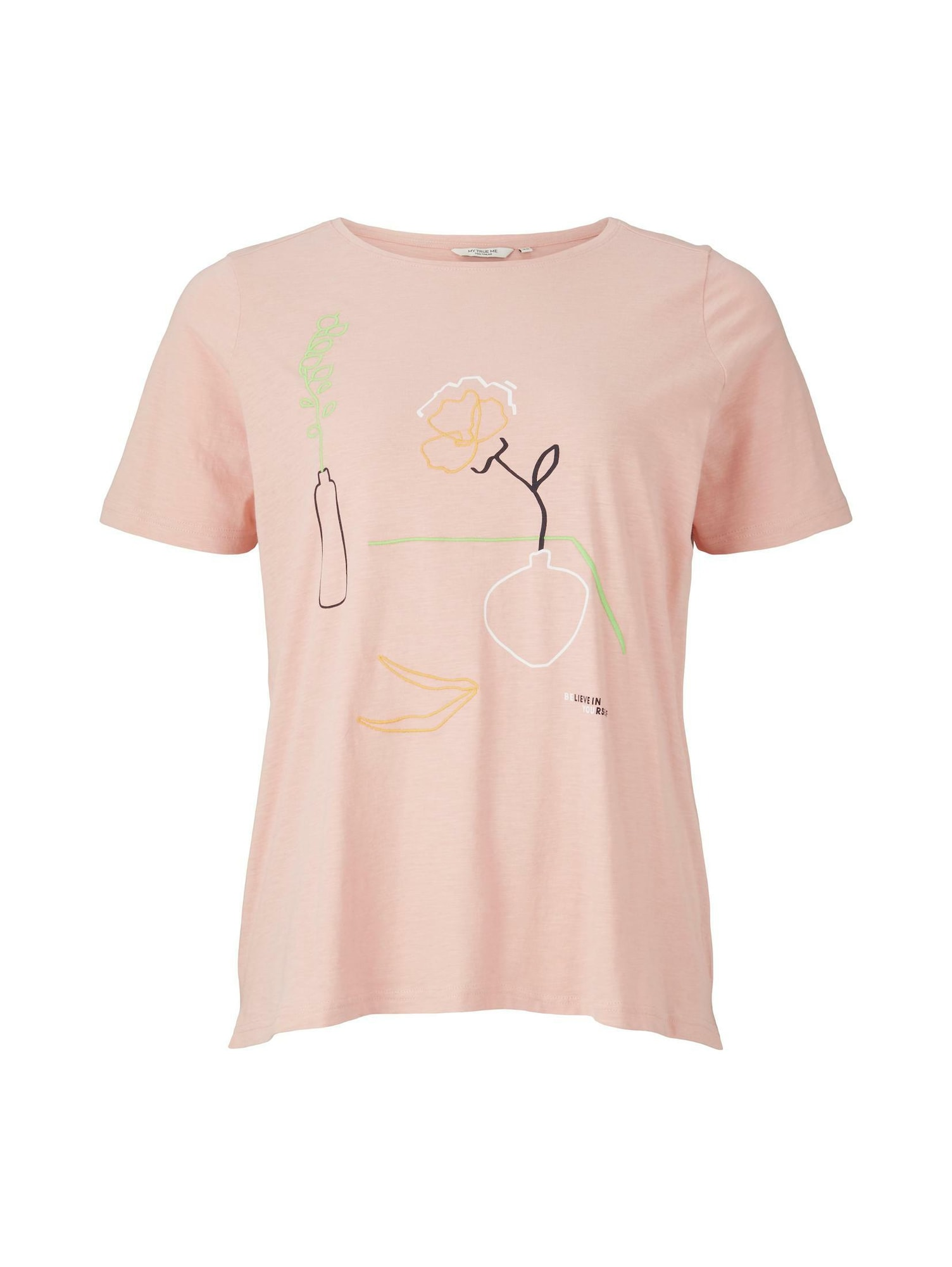 MY TRUE ME Marškinėliai rožių spalva