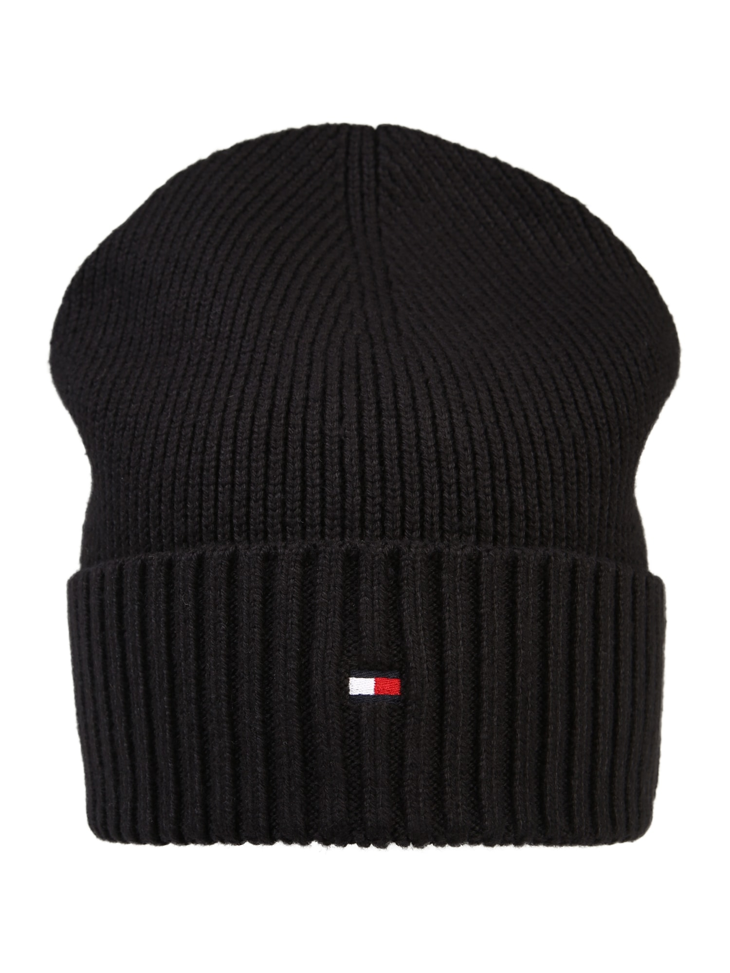 TOMMY HILFIGER Megzta kepurė juoda