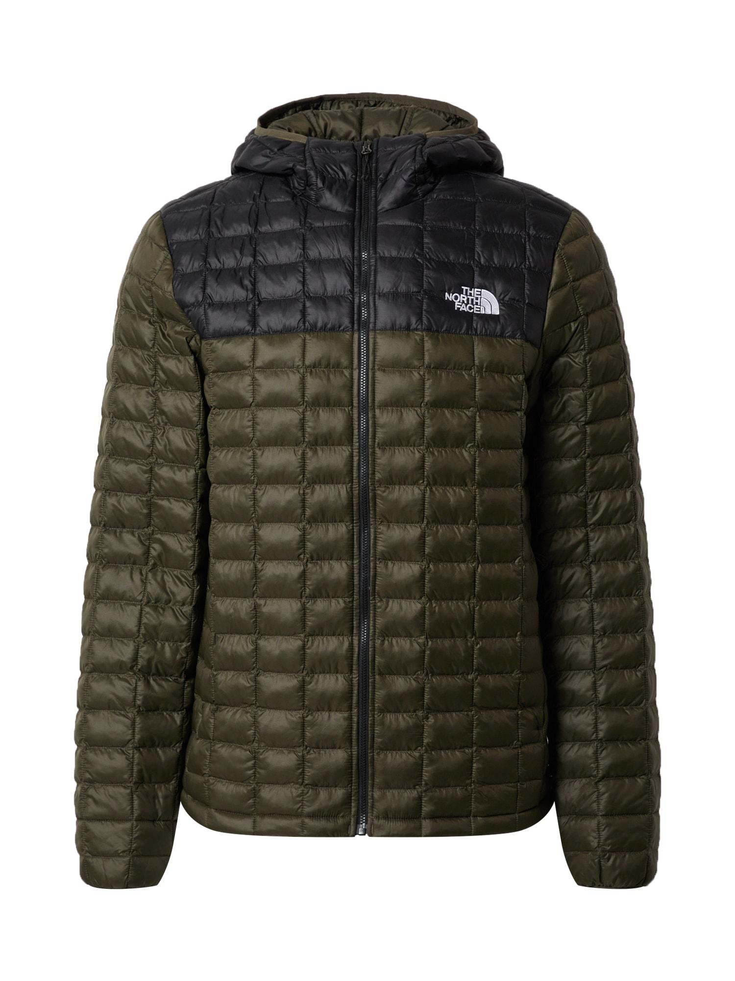 THE NORTH FACE Outdoorová bunda  khaki / černá
