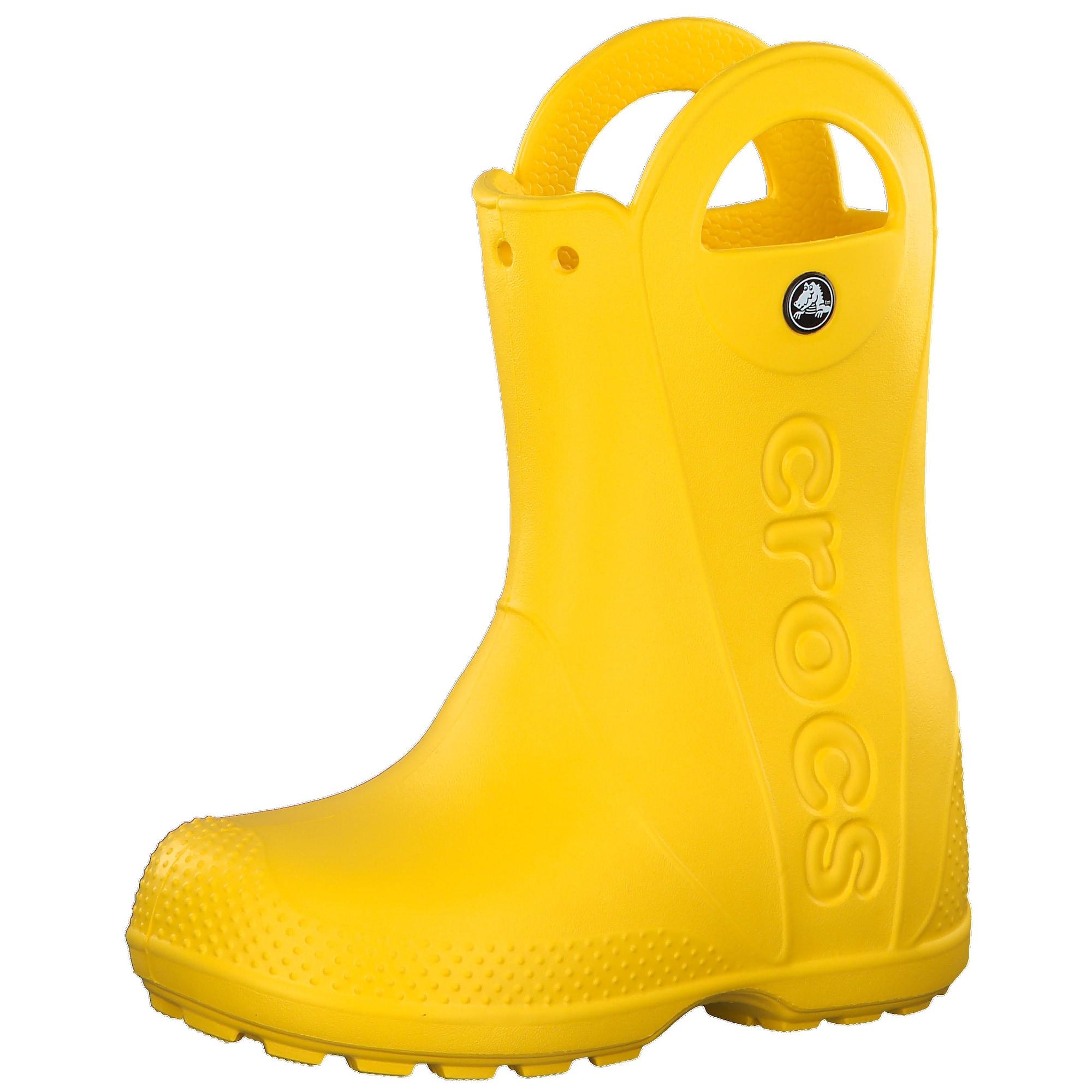 Crocs Guminiai batai geltona