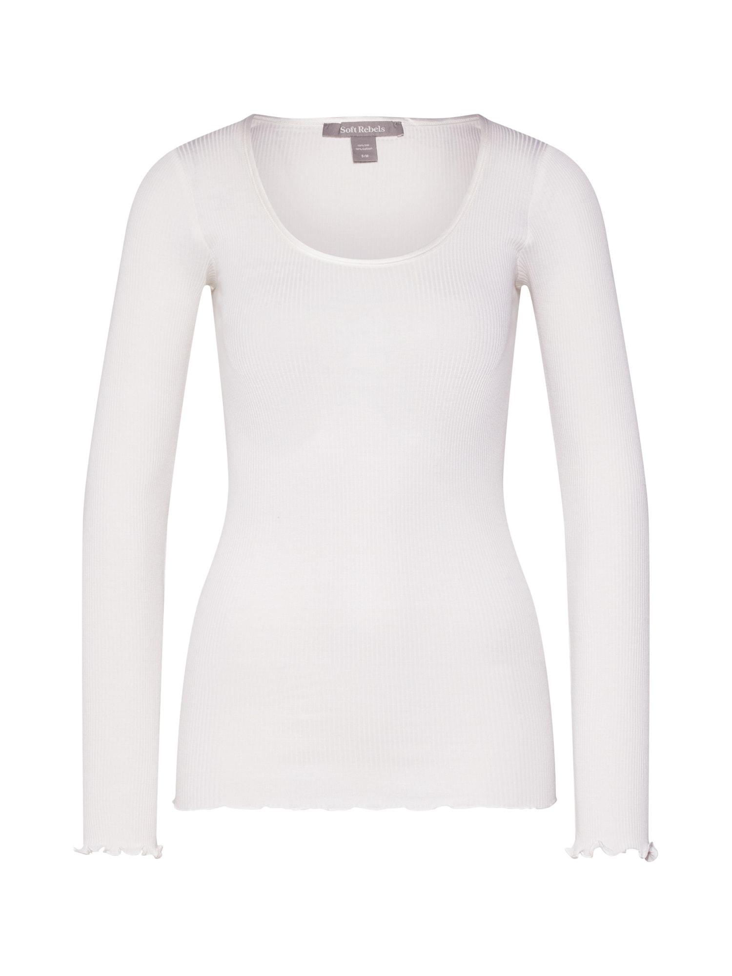 Soft Rebels Tričko  biela