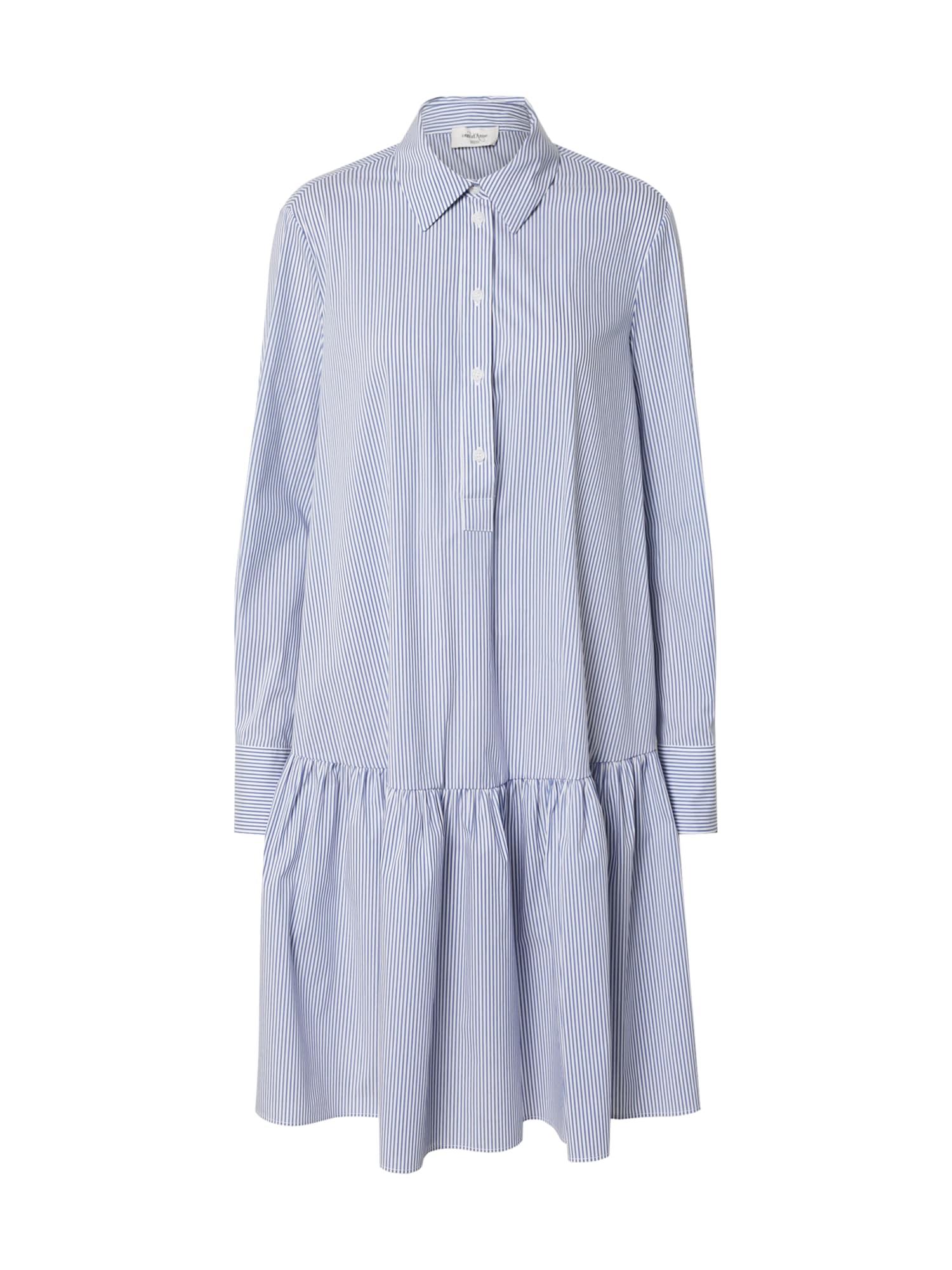 Ottod'Ame Košilové šaty 'ABITO'  bílá / světlemodrá