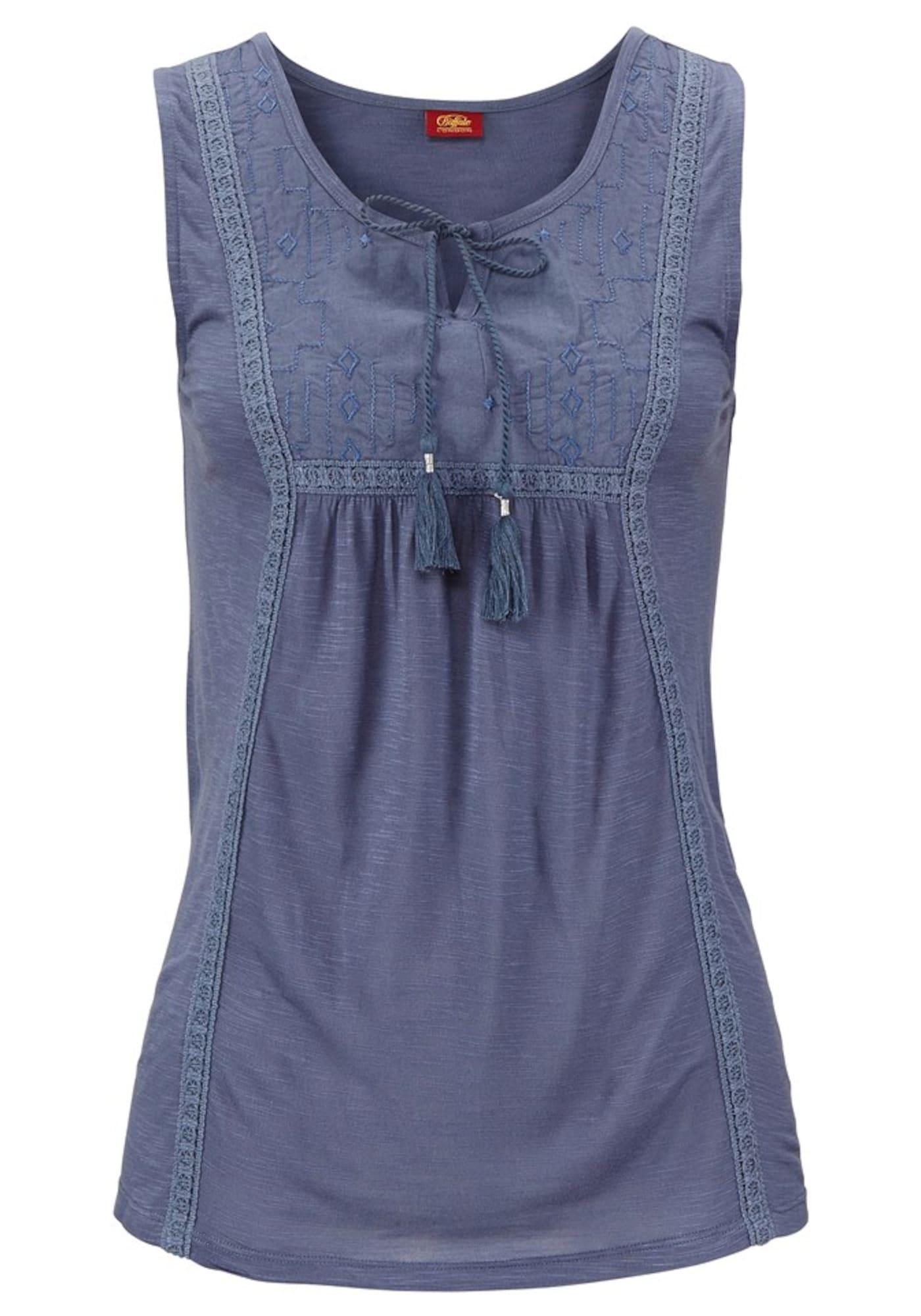 BUFFALO Palaidinė be rankovių violetinė-mėlyna
