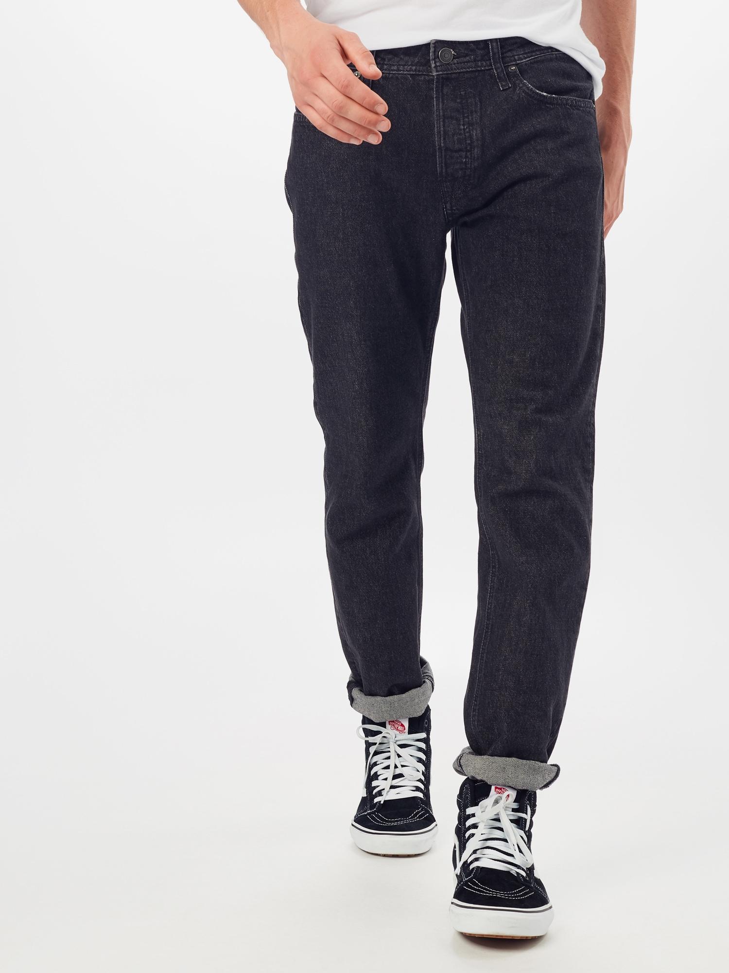 JACK & JONES Jeans 'Mike'  svart denim