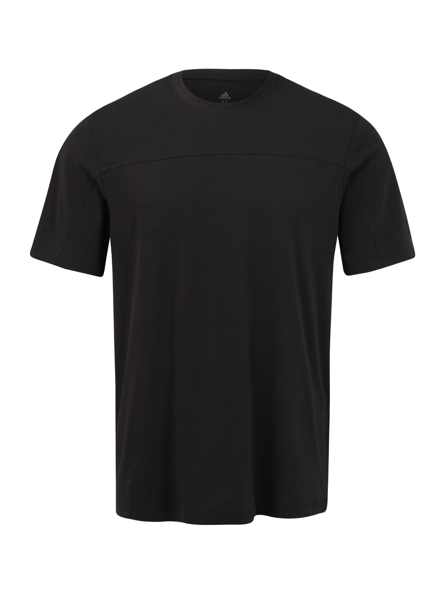 ADIDAS PERFORMANCE Sportiniai marškinėliai 'CITY BASE' juoda
