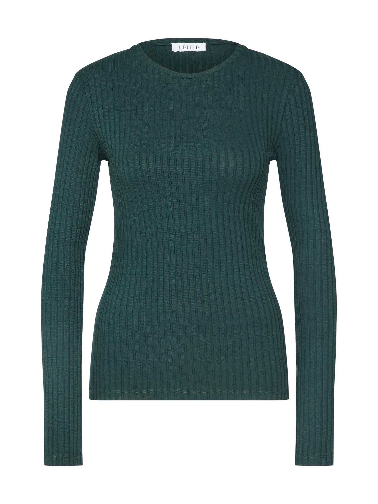 EDITED Marškinėliai 'Ginger' žalia