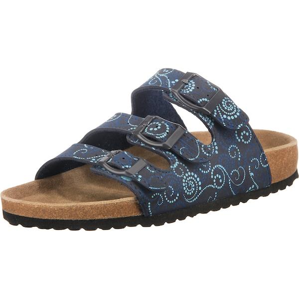 Hausschuhe für Frauen - Pantoffeln › JANE KLAIN › aqua dunkelblau  - Onlineshop ABOUT YOU