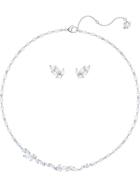 Schmucksets für Frauen - Swarovski Schmuckset 'Louison 5435164' silber  - Onlineshop ABOUT YOU