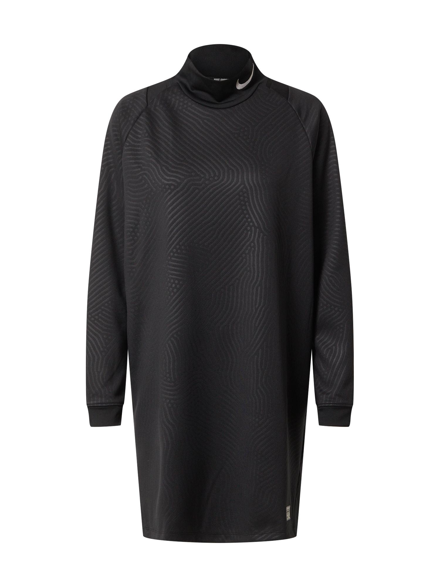 NIKE Sportovní šaty  černá