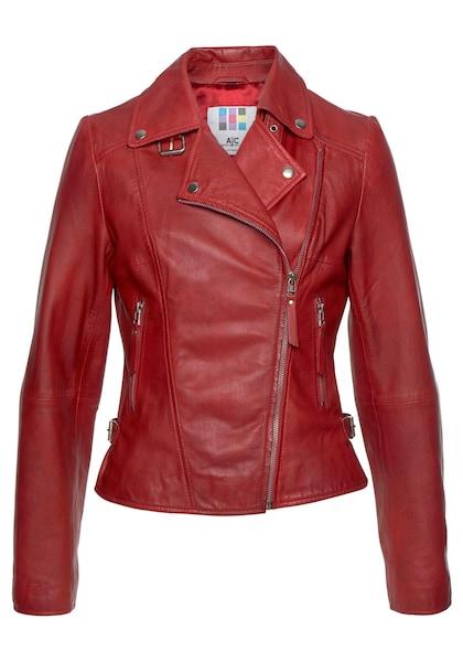 Jacken für Frauen - AJC Lederjacke rot  - Onlineshop ABOUT YOU