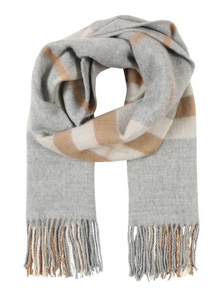 Schals für Frauen - Schal 'PCHUSH LONG SCARF' › PIECES › hellgrau  - Onlineshop ABOUT YOU