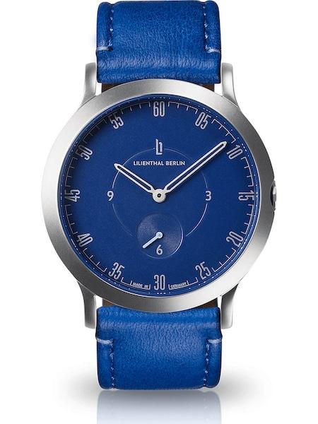 Uhren für Frauen - Lilienthal Berlin Uhr 'L01 203 B017A' blau silber  - Onlineshop ABOUT YOU