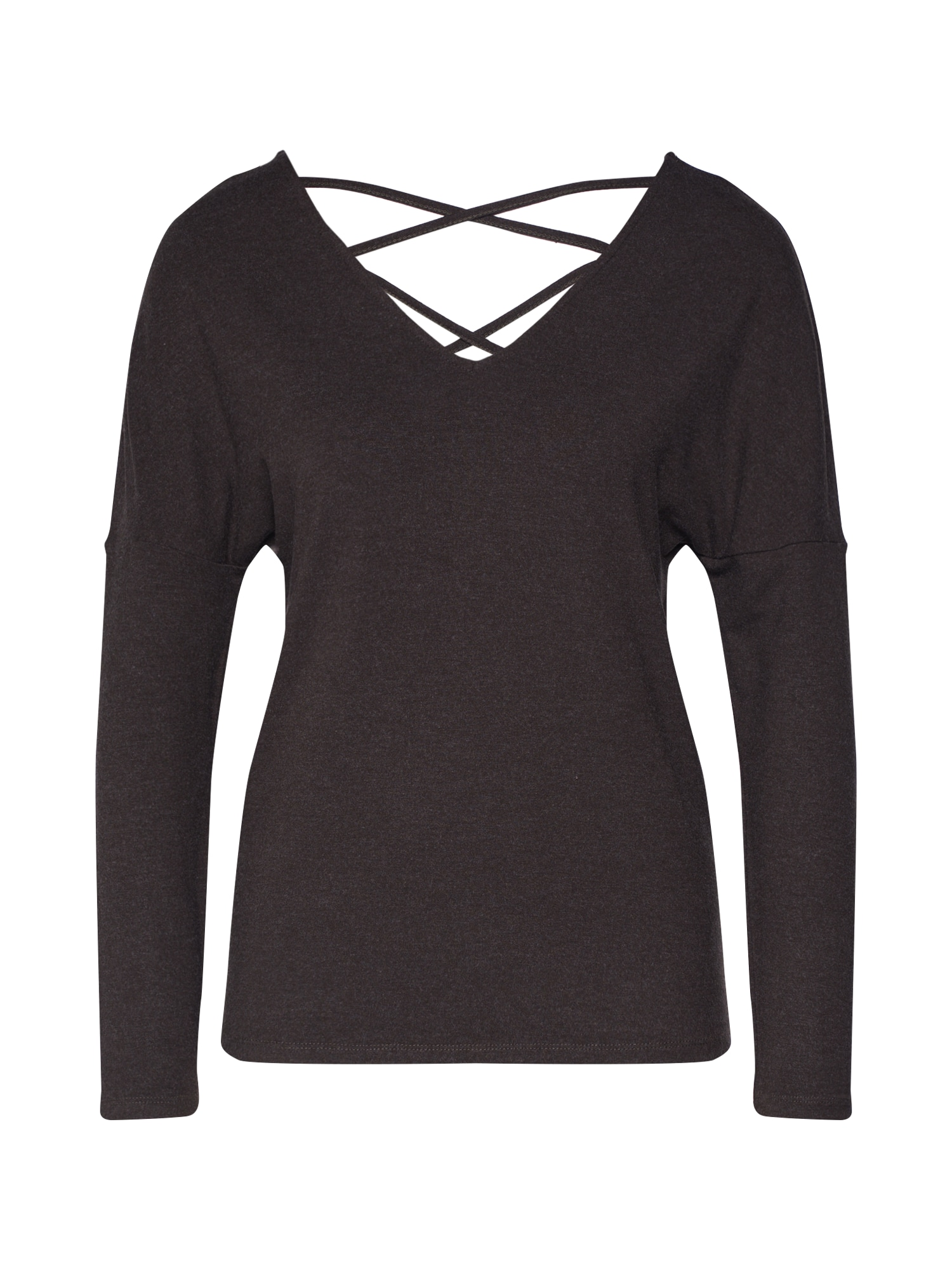 ABOUT YOU Marškinėliai 'Lenio' alyvuogių spalva / rusvai žalia