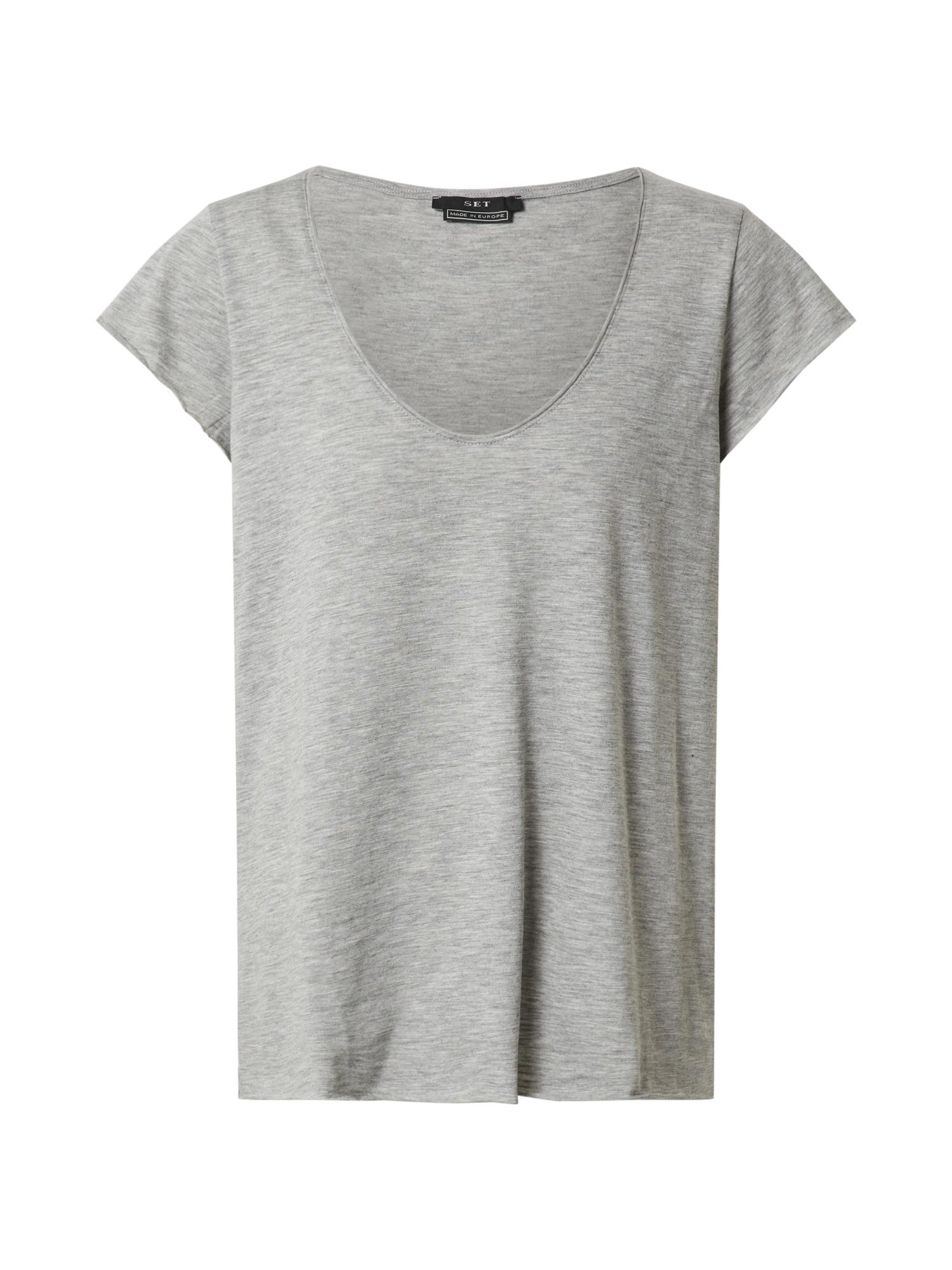 SET Marškinėliai pilka