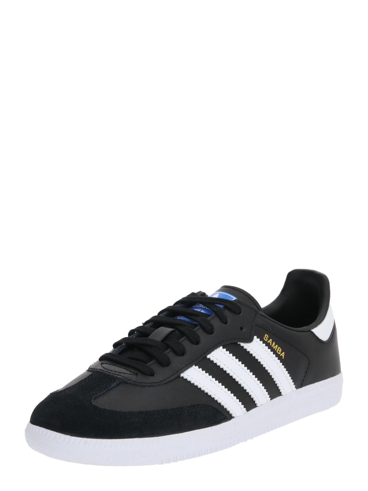 ADIDAS ORIGINALS Sportiniai batai 'SAMBA' juoda