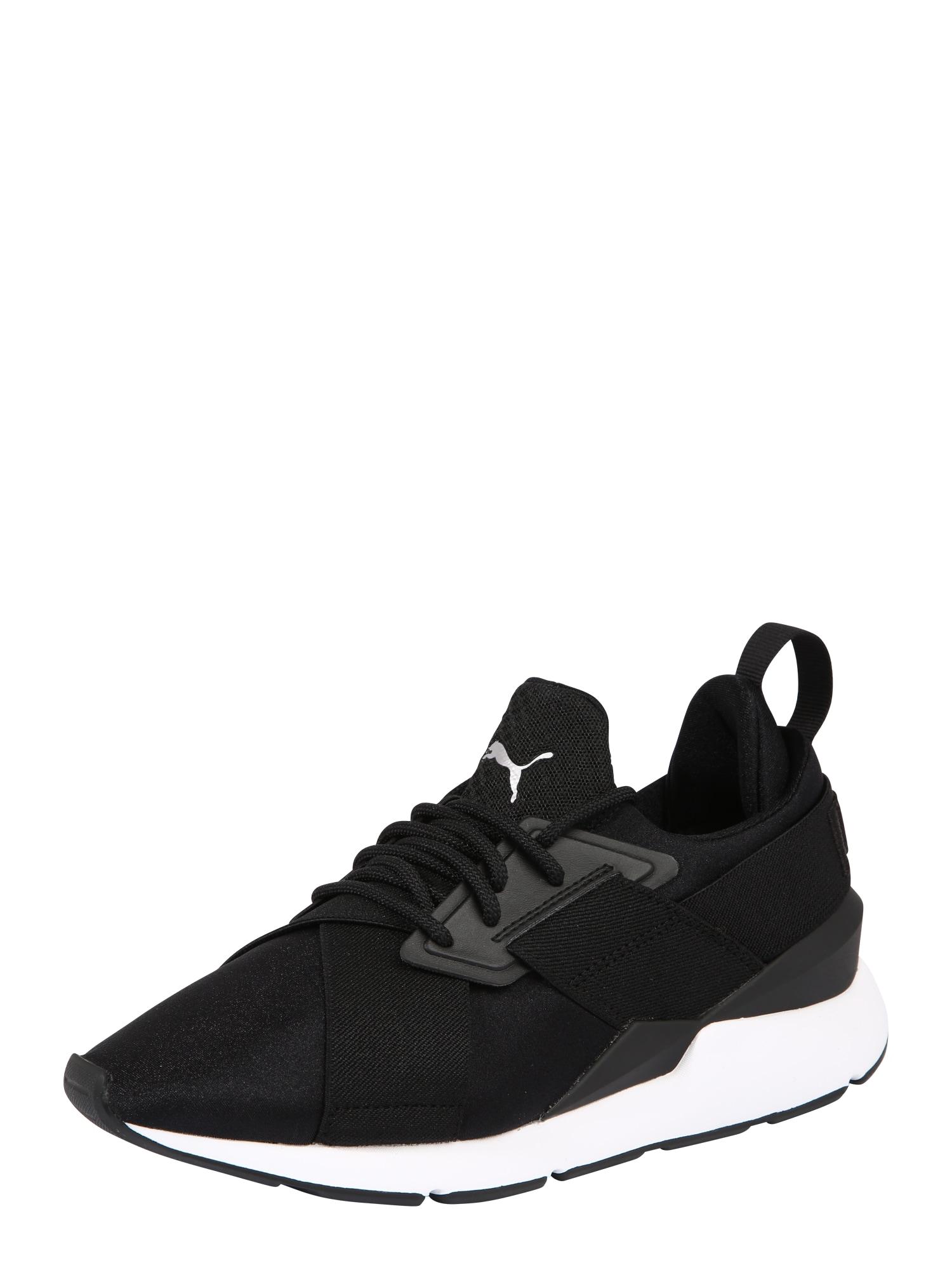 PUMA Sportovní boty 'Muse Satin Ep Wn's'  černá