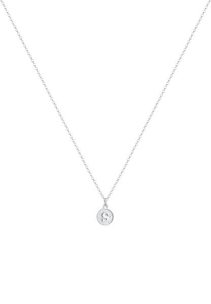 Ketten - Halskette Buchstabe, Buchstabe S › ELLI › silber  - Onlineshop ABOUT YOU