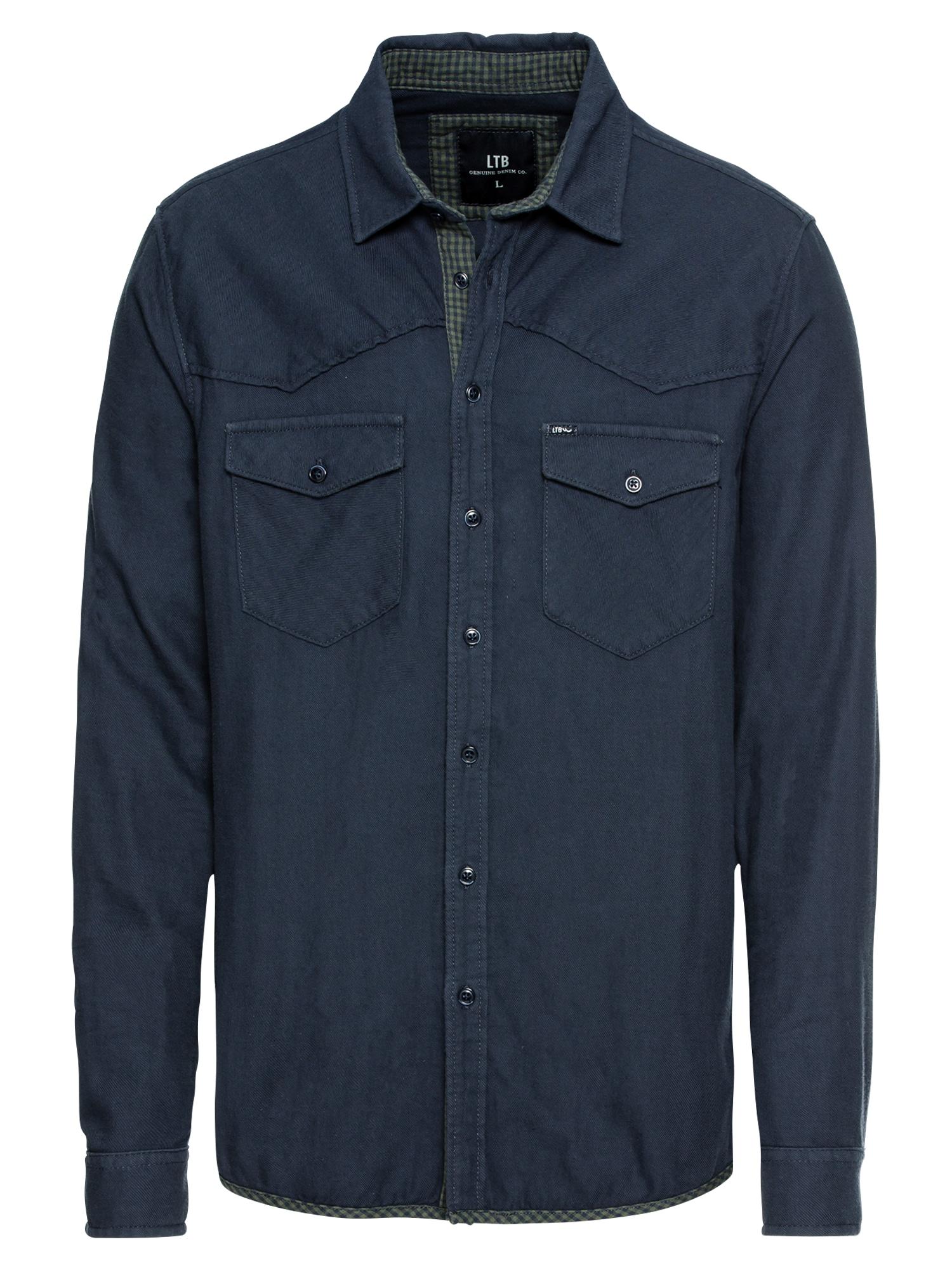 Košile FEMACE SHIRT námořnická modř zelená LTB
