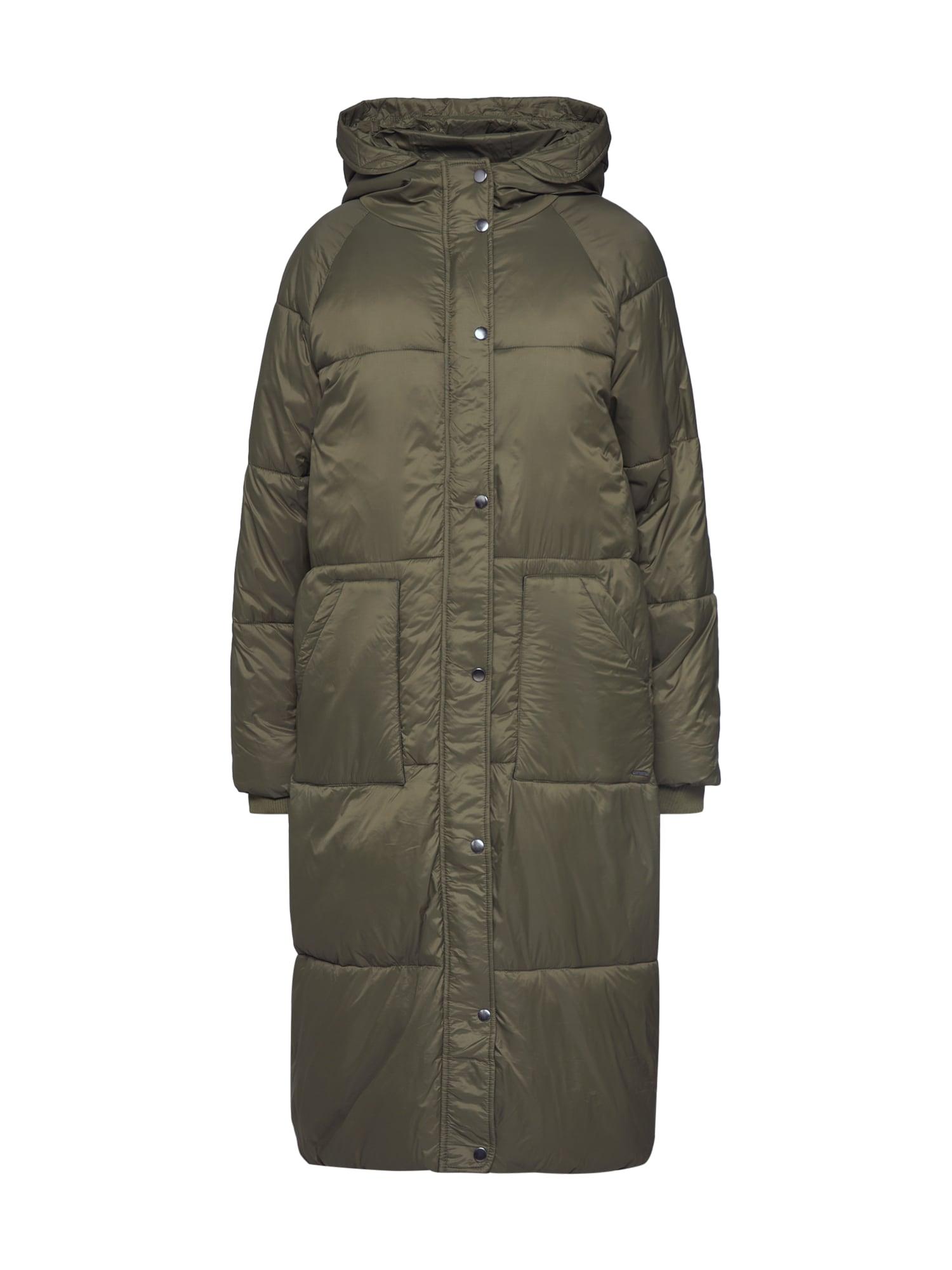 b.young Žieminis paltas 'BYCERINA' alyvuogių spalva
