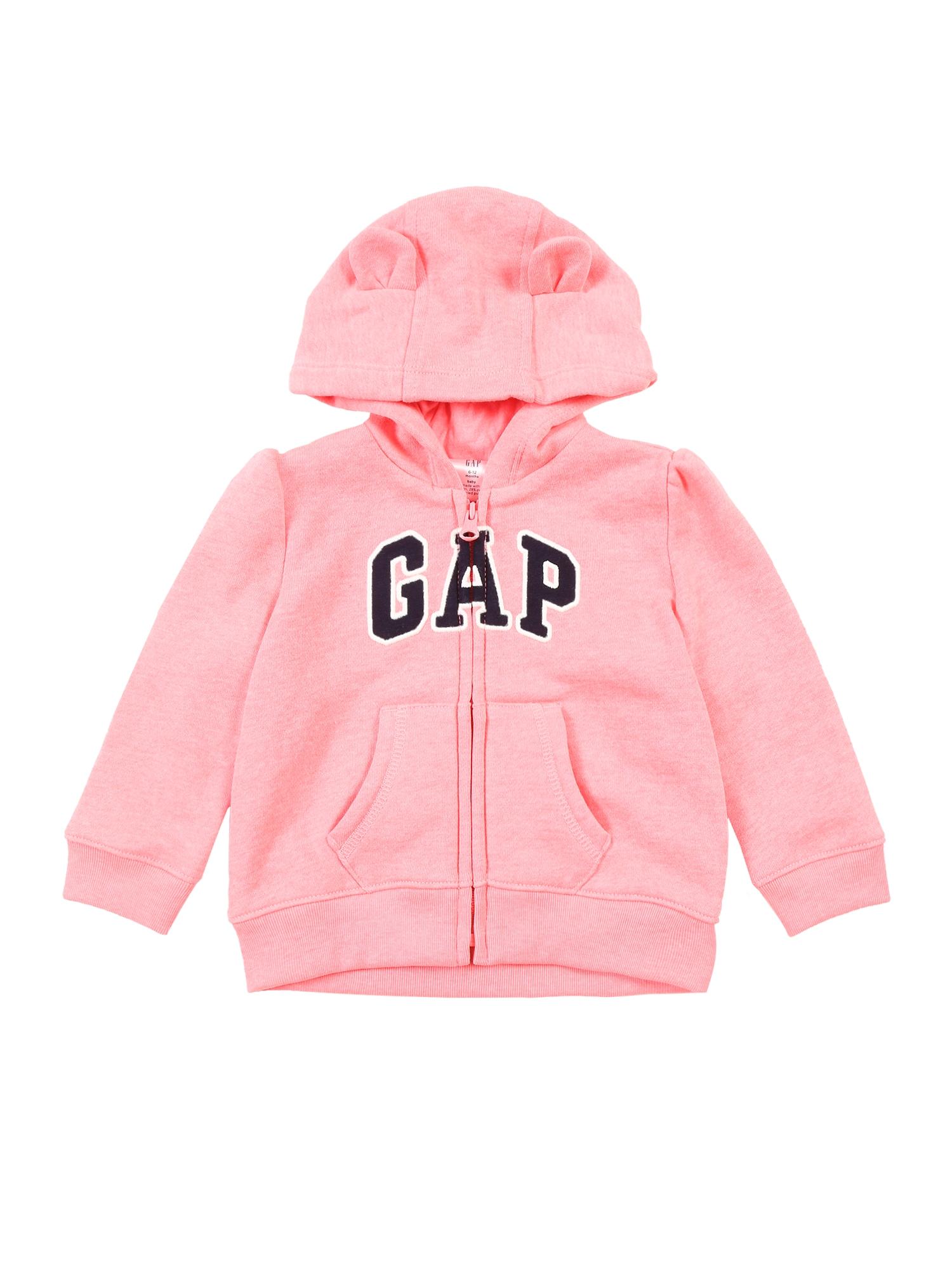 GAP Džemperis rožinė / juoda