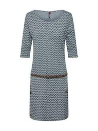 Ragwear Damen Kleid TANYA grau,schwarz | 04251490131743