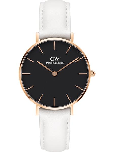 Uhren für Frauen - Daniel Wellington Uhr 'Petite 32 Bondi DW00100283' rosegold schwarz weiß  - Onlineshop ABOUT YOU