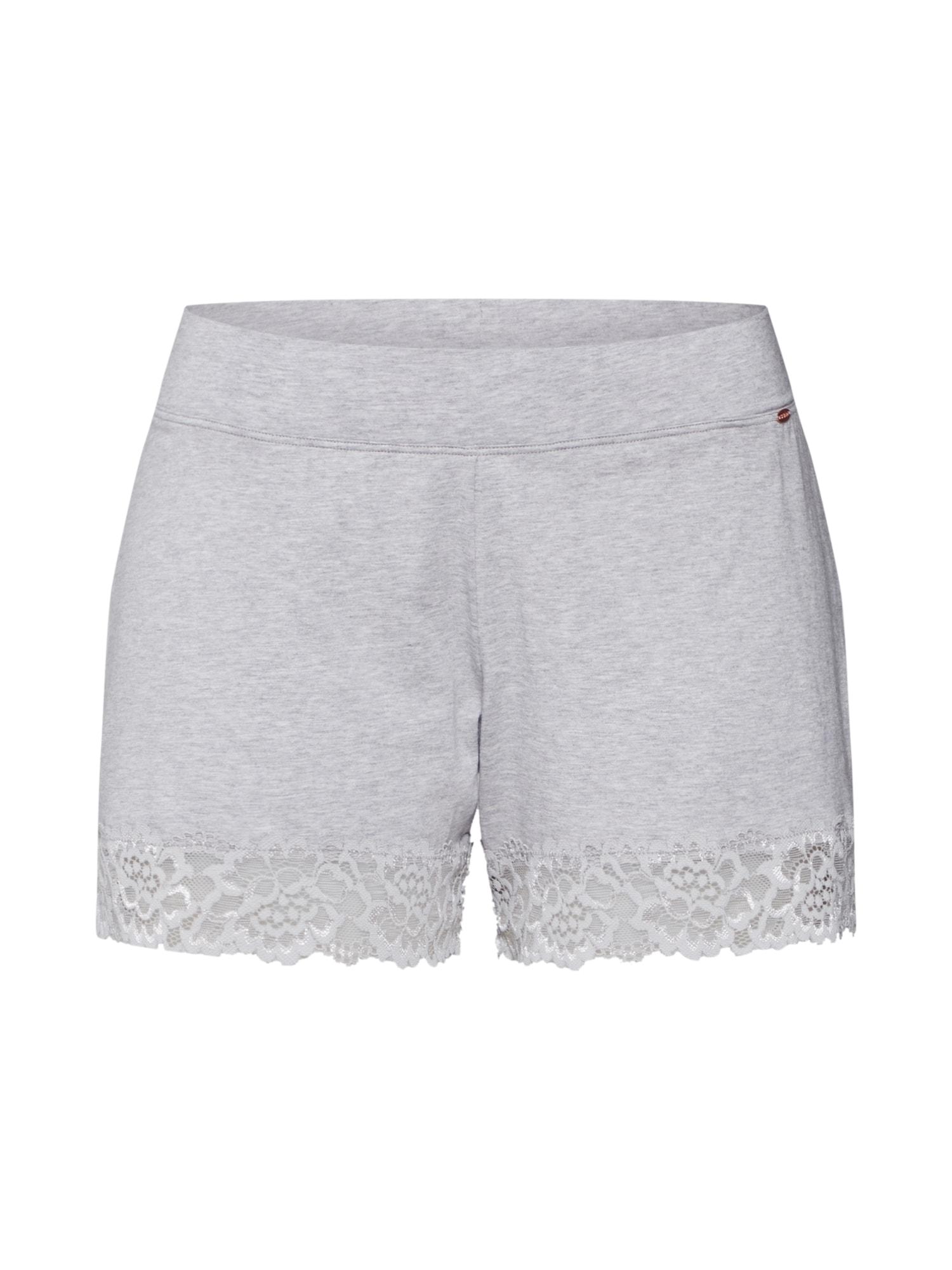 Skiny Pyžamové nohavice 'Sleep & Dream'  svetlosivá