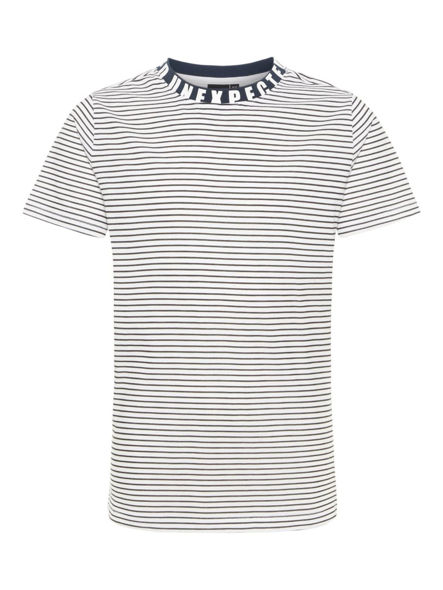 Tričko Nlmhero tmavě modrá bílá NAME IT