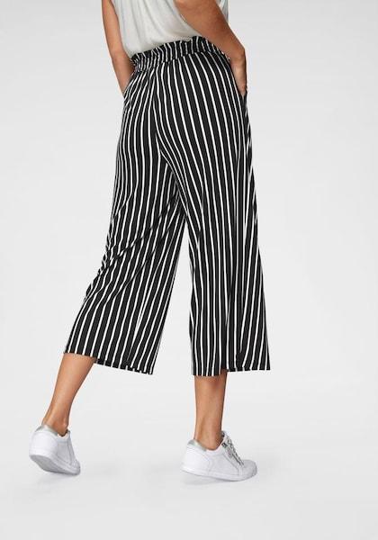 Hosen für Frauen - ANISTON Culotte schwarz weiß  - Onlineshop ABOUT YOU