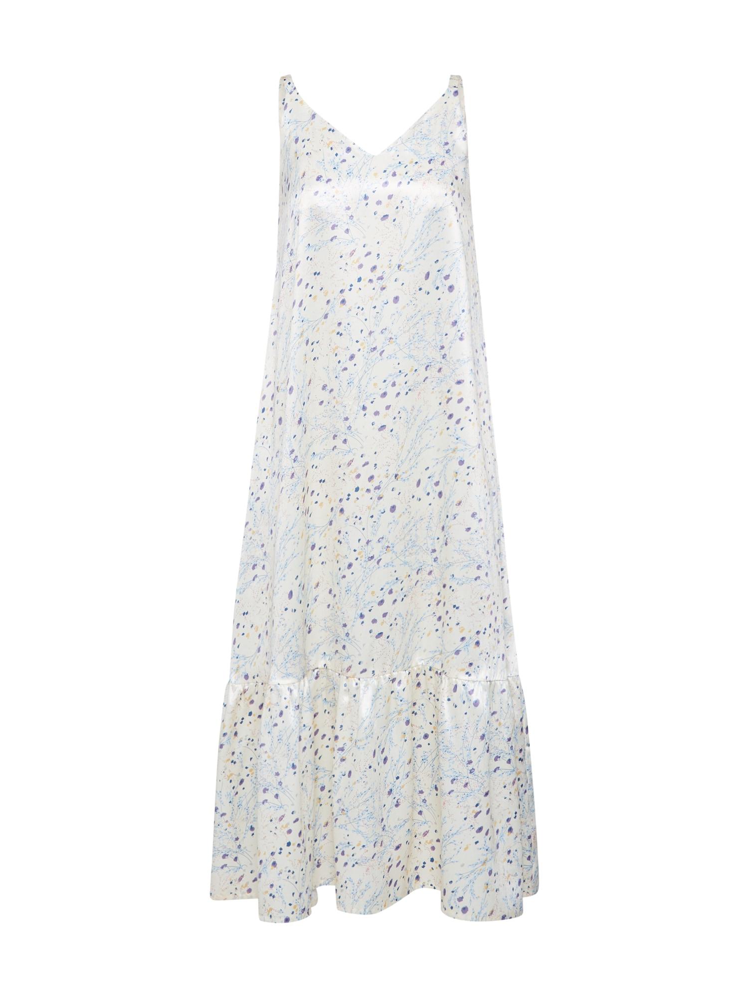 EDITED Suknelė 'Fabiane' balta / mišrios spalvos