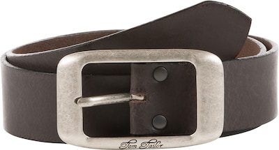 TOM TAILOR Ledergürtel 'used cow leather belt'