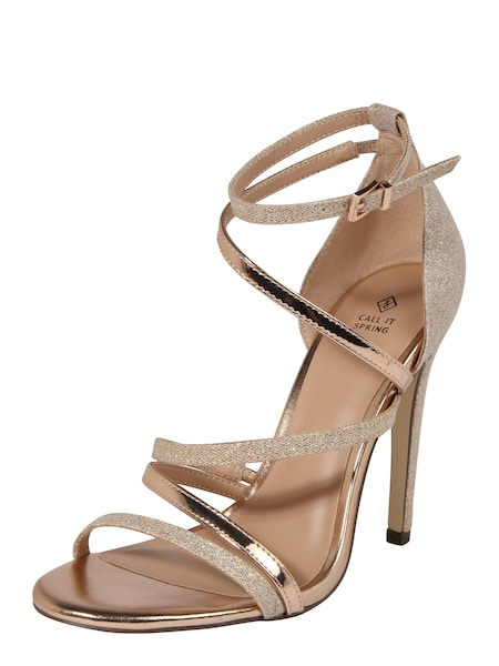 Highheels für Frauen - 'NAGI' › CALL IT SPRING › gold rosé  - Onlineshop ABOUT YOU