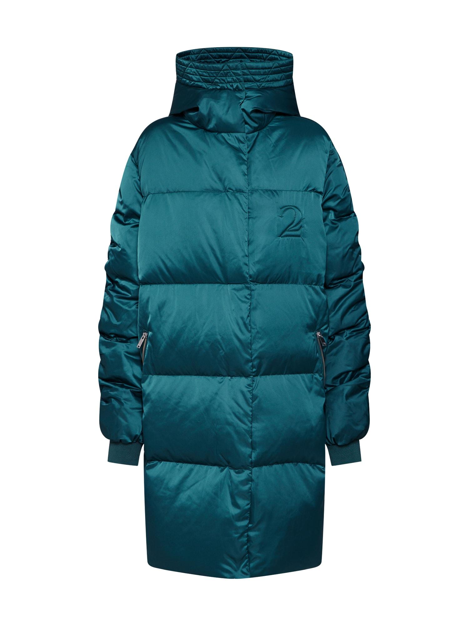 2NDDAY Žieminis paltas 'Puff' benzino spalva