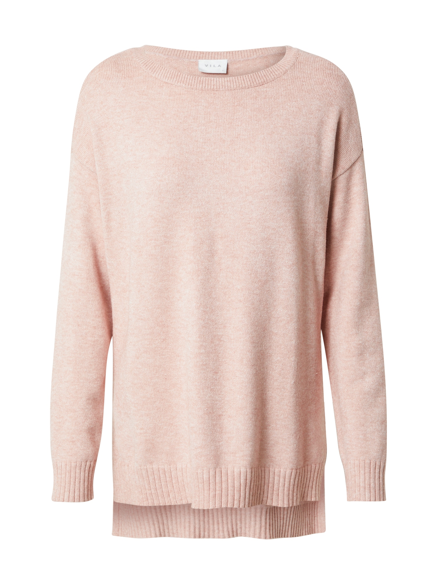 VILA Megztinis rožinė