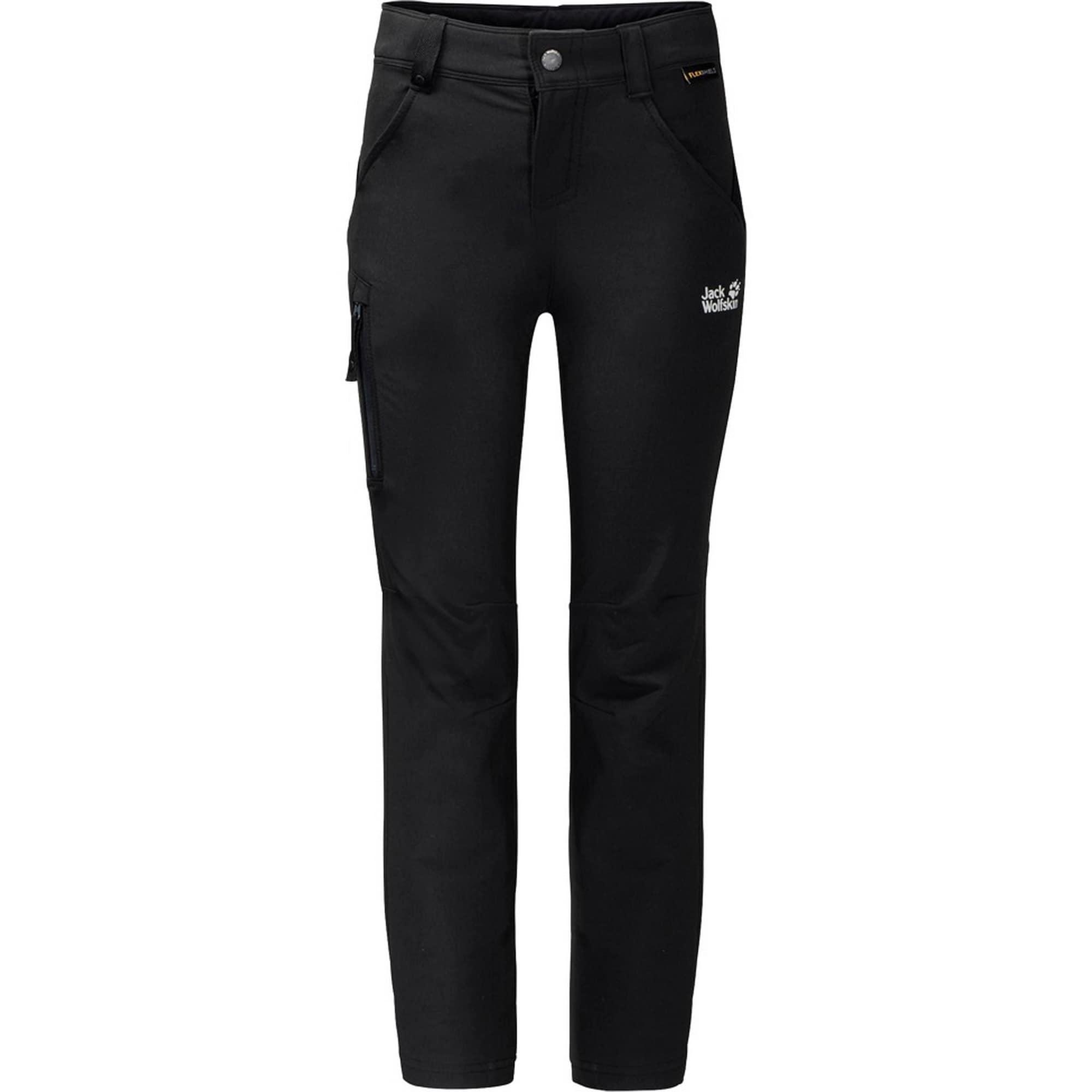 Funkční kalhoty Activate černá bílá JACK WOLFSKIN