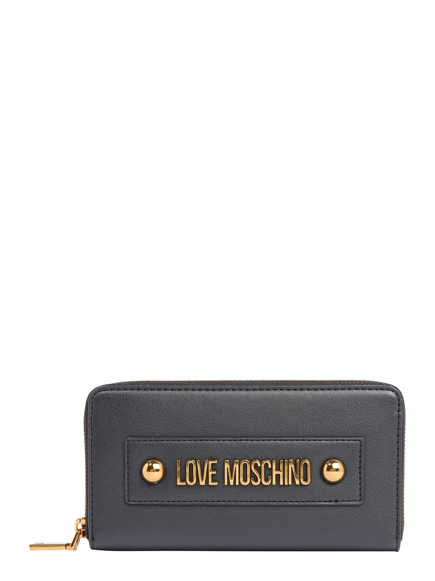 Love Moschino Piniginė 'SLG-LETTERING LOVE MOSCHINO' juoda