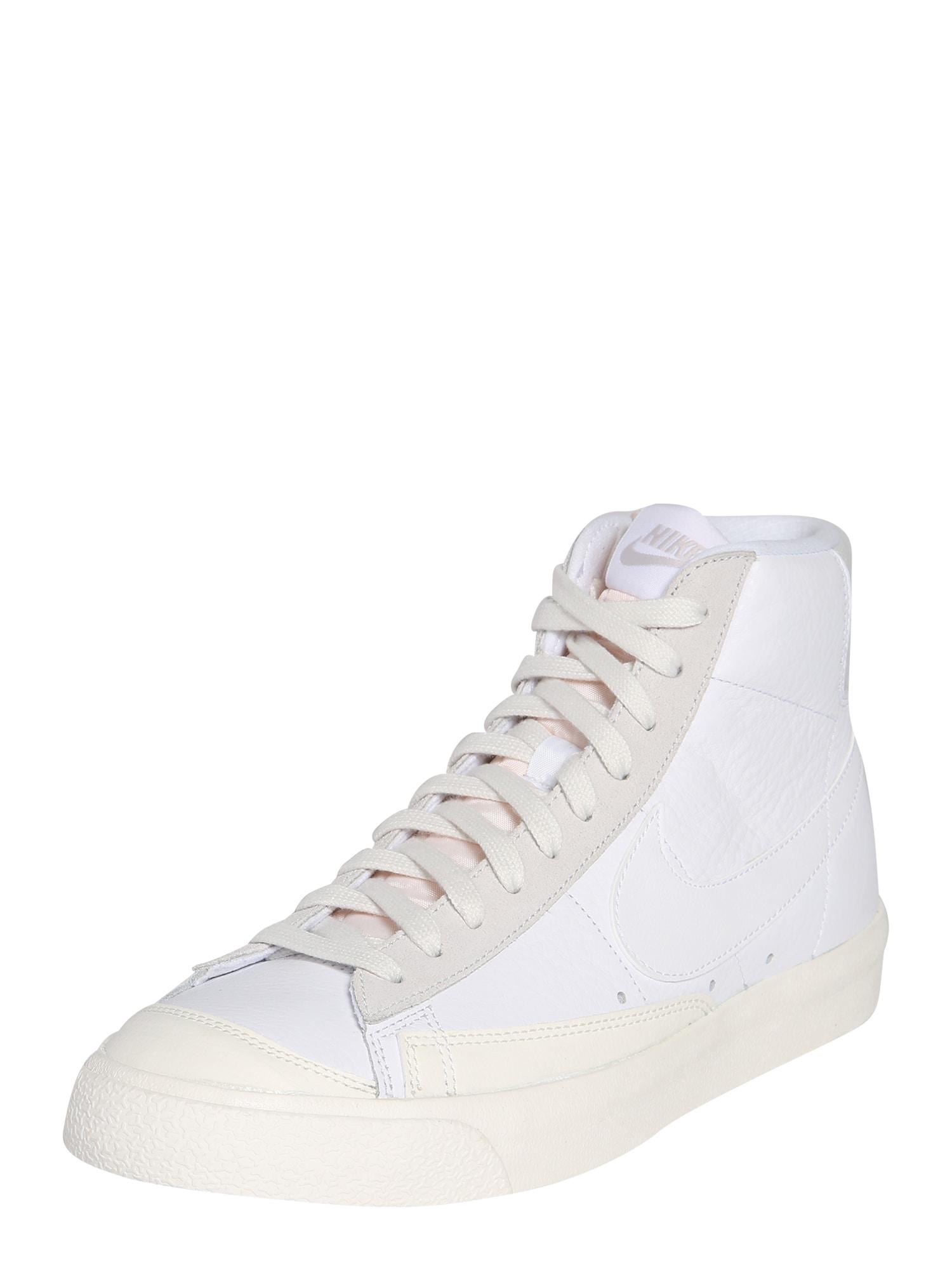 Nike Sportswear Členkové tenisky  biela