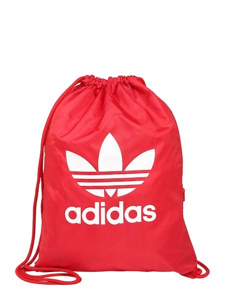 Sporttaschen für Frauen - ADIDAS ORIGINALS Turnbeutel rot weiß  - Onlineshop ABOUT YOU