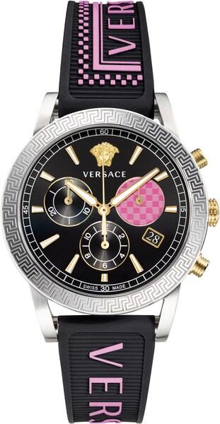 Uhren für Frauen - Uhr 'Sport Tech 40, VELT00619' › Versace › pink schwarz  - Onlineshop ABOUT YOU