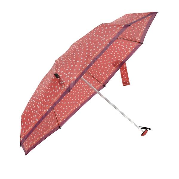 Regenschirme - Regenschirm 'X1 Lotus' › knirps › rot perlweiß  - Onlineshop ABOUT YOU